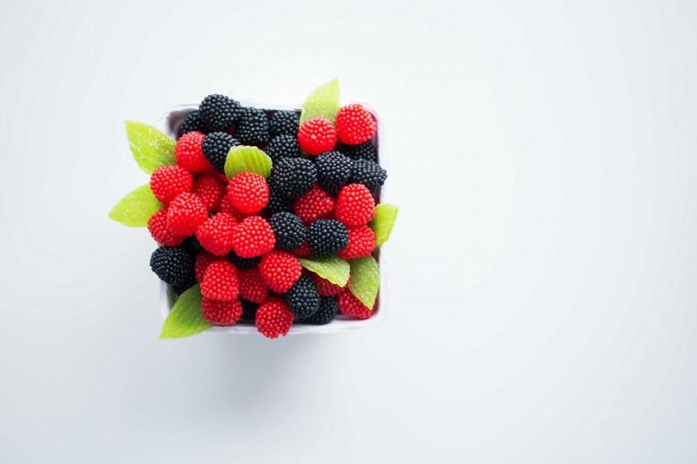 get rid of wrinkles with berries antioxidants