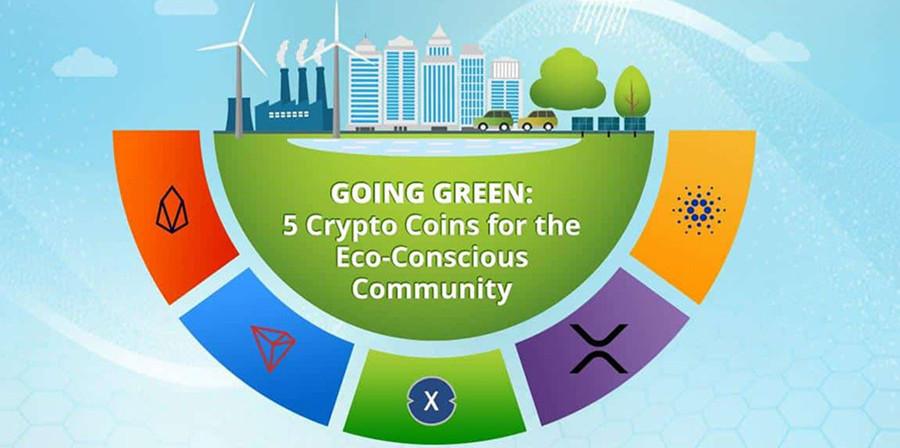 Top 5 eco-friendly cryptocurrencies