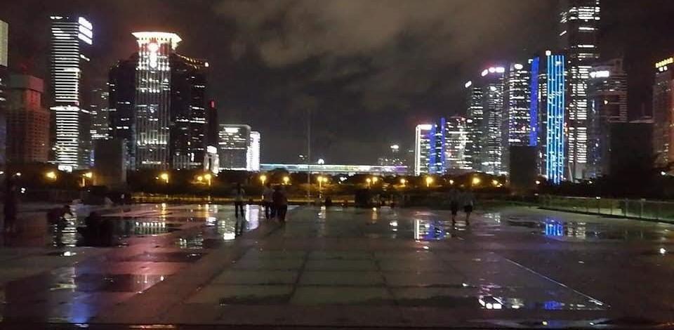 Civic city center Snapshot Shenzhen