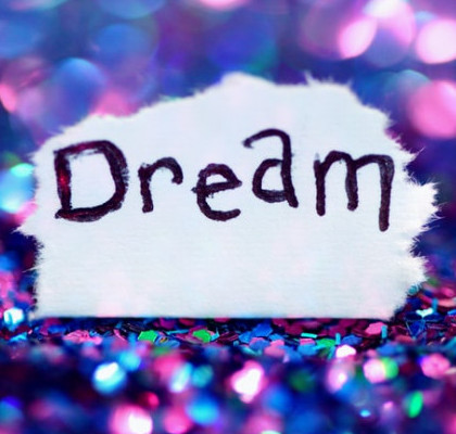 What to Do When Nobody Believes in You - Paper with the Word Dream