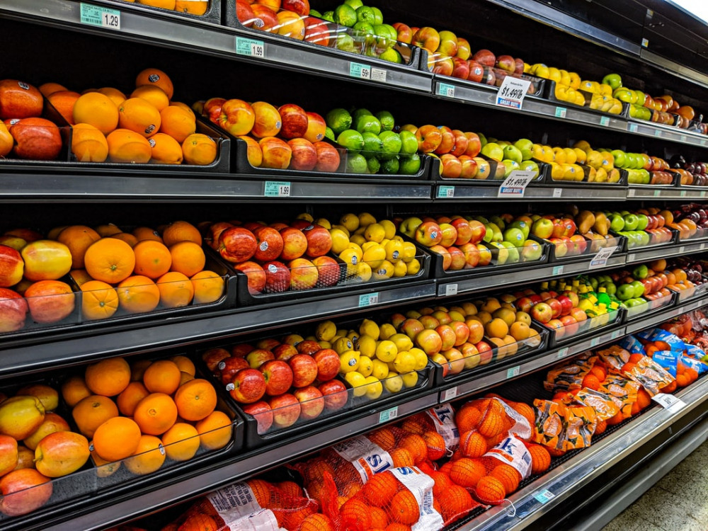 The Quickest Ways to Save Money at the Grocery Store - Fruit in a Grocery Store