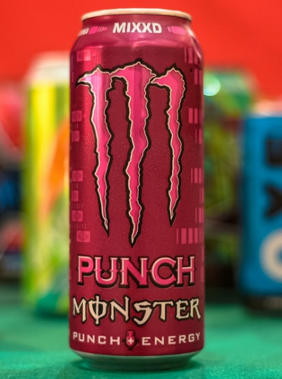 Drinking Coffee While Breastfeeding - Monster Energy Drink
