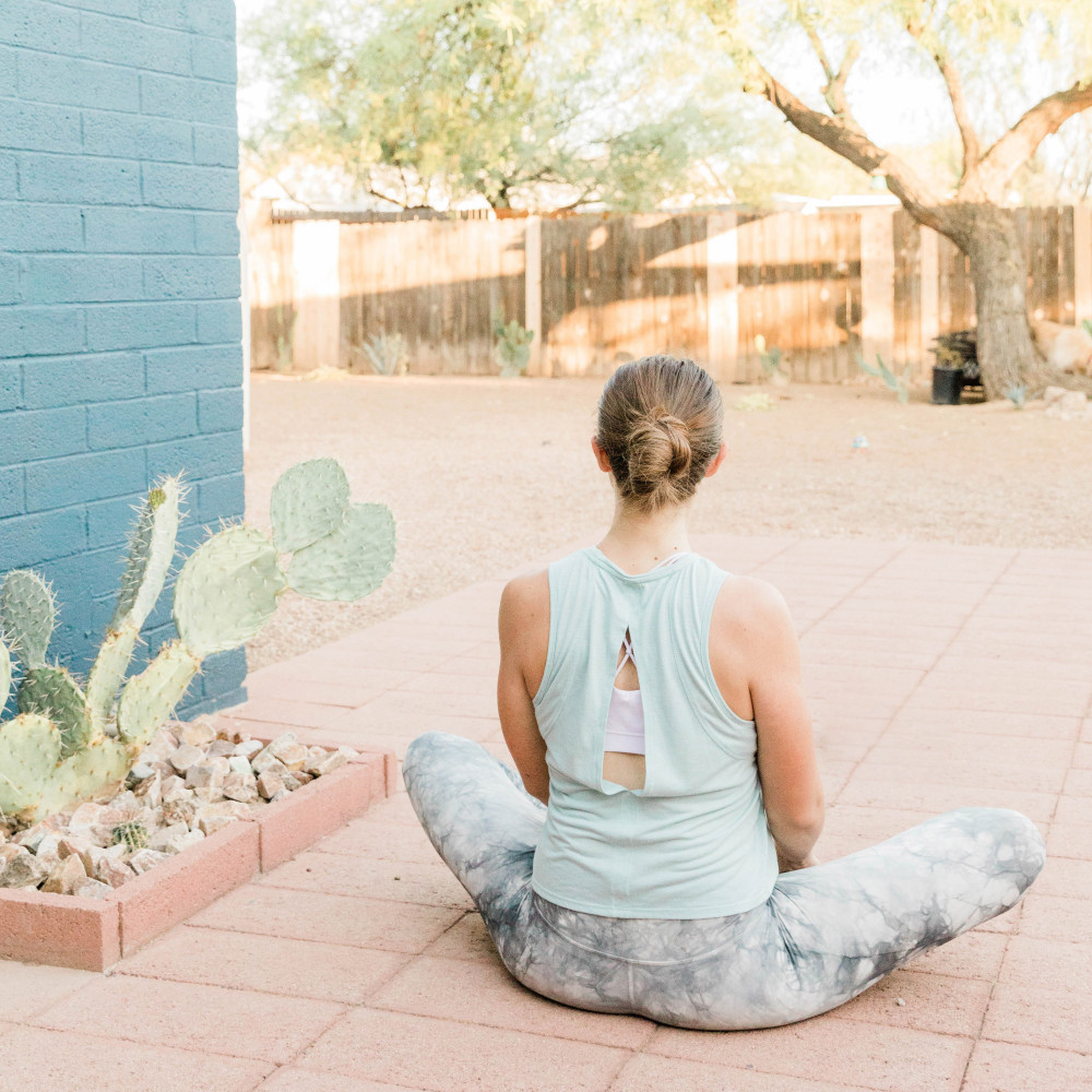How to Beat Stay-At-Home Mom Boredom - Yoga Outside