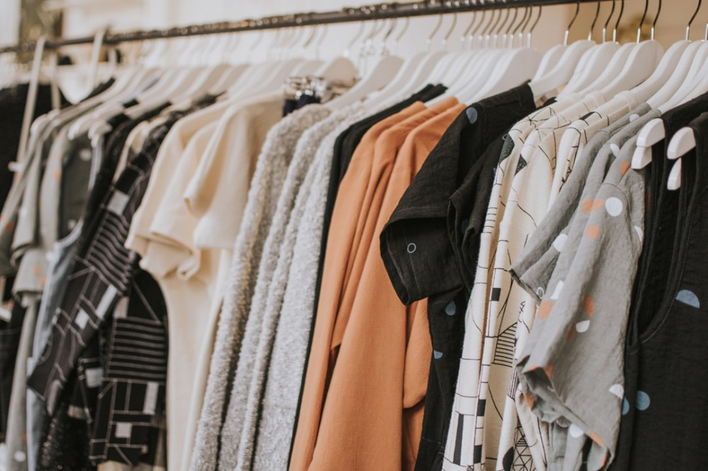 How to Save Money as a Stay At Home Mom - Hanging Clothes Rack