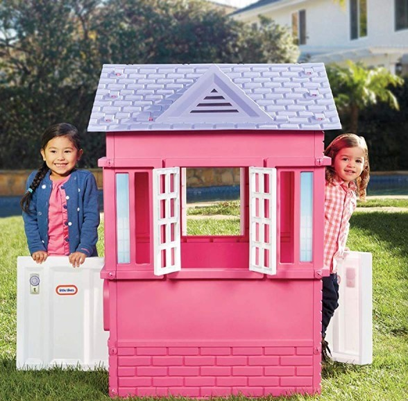 Little Tikes Playhouse-Kids Outdoor Playhouses