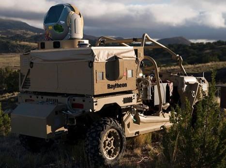 Raytheon HEL System.