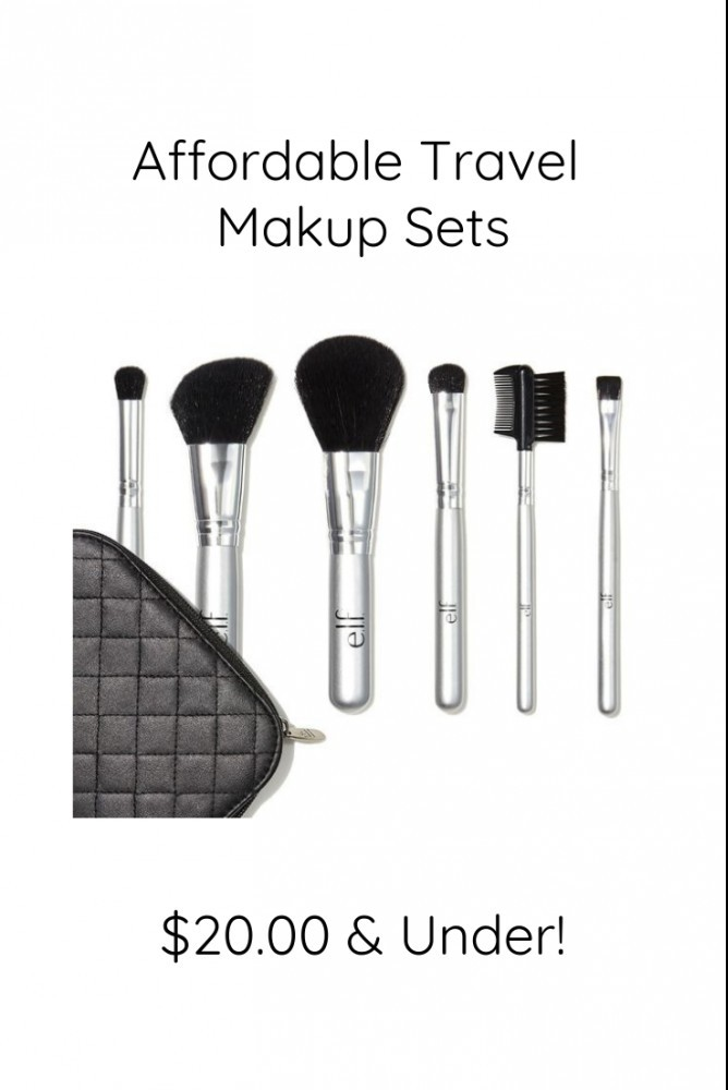 Affordable Travel Makeup Sets