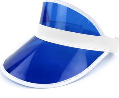classic 80s fashion - visor