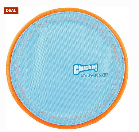 Chuckit Paraflight best soft dog frisbee