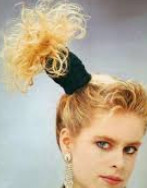classic 80s fashion part 2 side pony