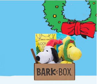 great dog christmas gifts -barkbox