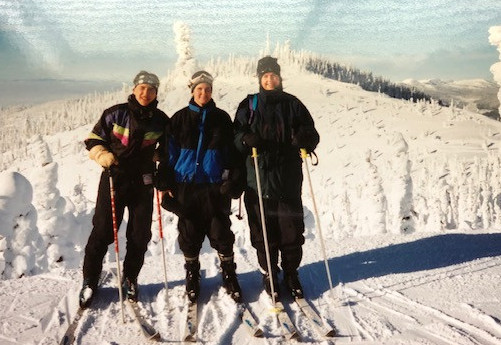 is downhill skiing fun - whitefish montana