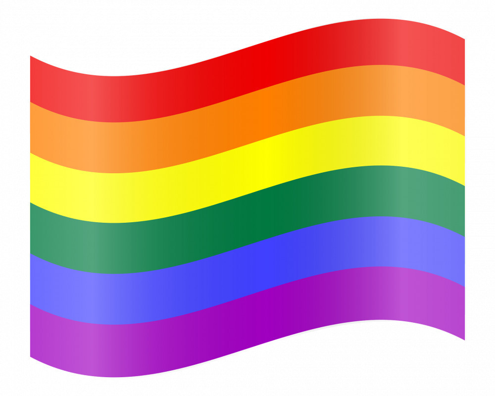 rainbow flag color meanings - 6 color flag