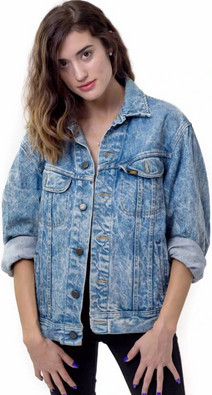 classic 80s fashion part 2 jean jacket