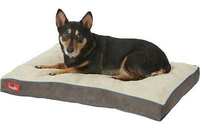 best dog crate beds - brindle shredded foam