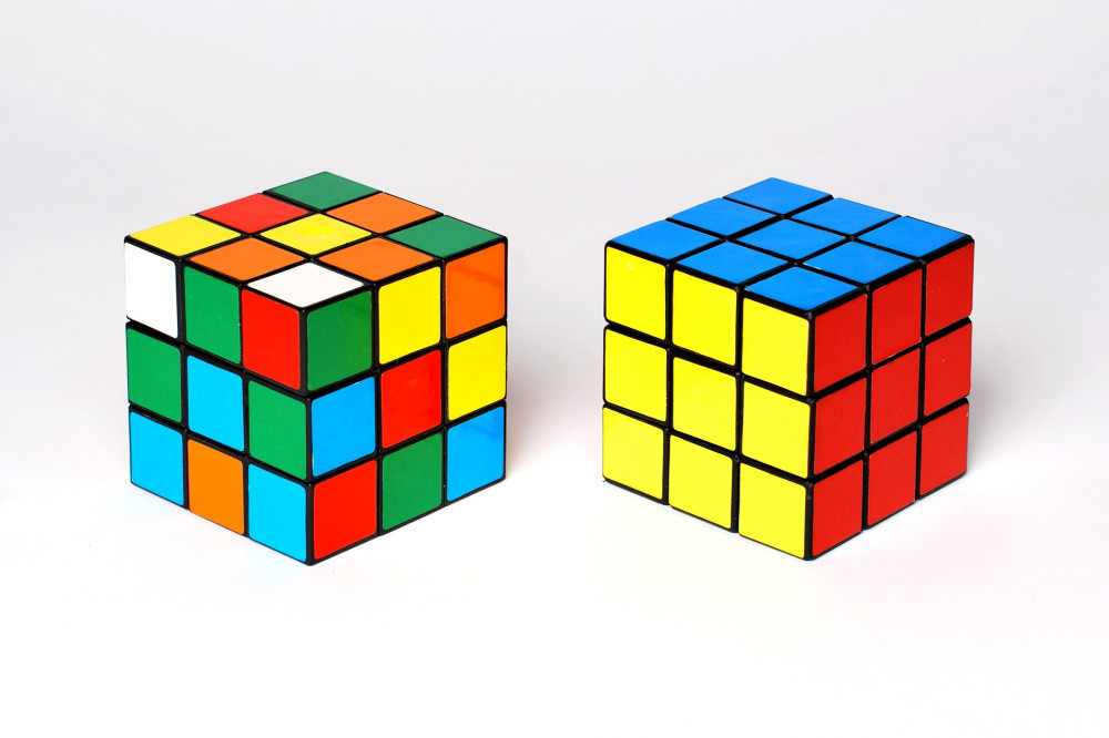 funny things from the 80s - rubik's cube