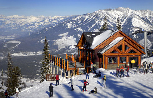 is downhill skiing fun - fernie ski chalet