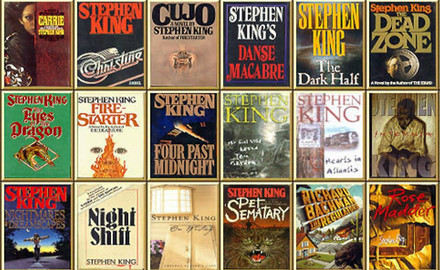 favourite writers all time - stephen king