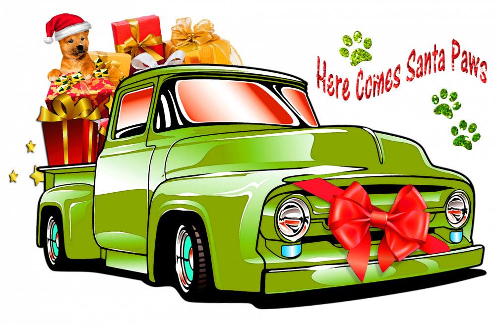 great dog christmas gifts - santa