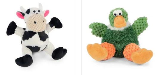 goDog chew guard toys - checkered toys