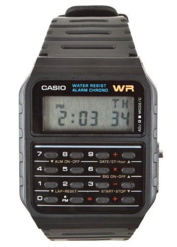 calulator watch - casio g shock
