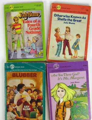 favourite writers all time - judy blume