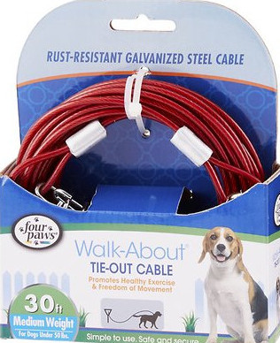 tie out cable best dog camping gear