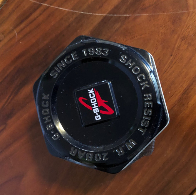 G shock watch container