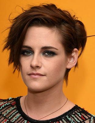 Kristen steward fun tomboy hairstyle