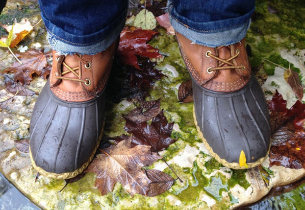 where to buy duck boots - outside