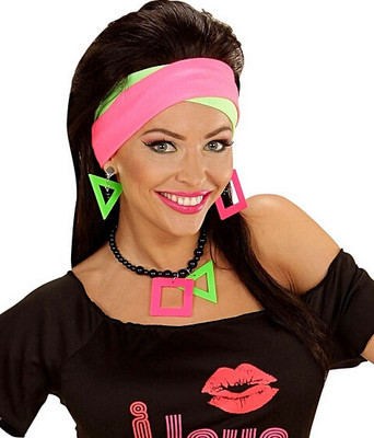 classic 80s fashion part 2 - neon