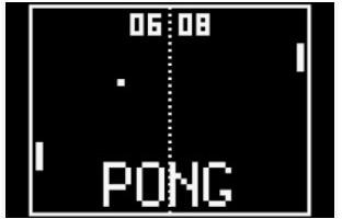 Do girls play video games pong screenshot