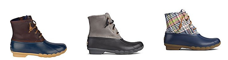 where to buy duck boots - sperry saltwater duck boots