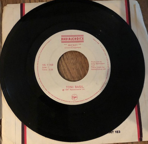 80s music girl - toni basil
