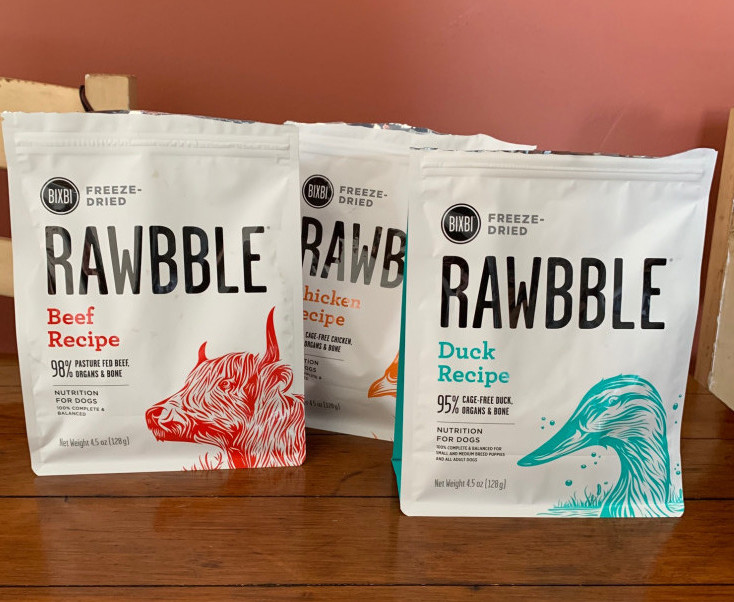 bixby pet food review - rawbble toppers