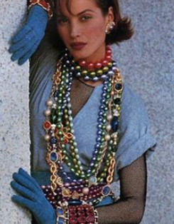 classic 80s fashion part 2 - jewelry