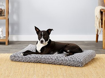 best dog crate bed - midwest ombre