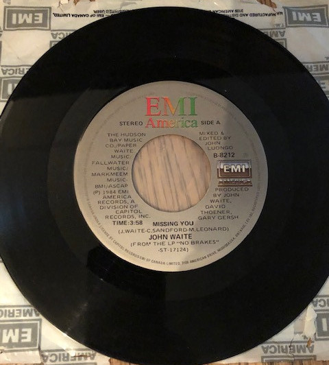 80s music girl john waite