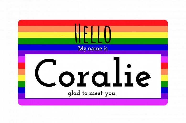 past lesbian tv show characters - coralie lesbian