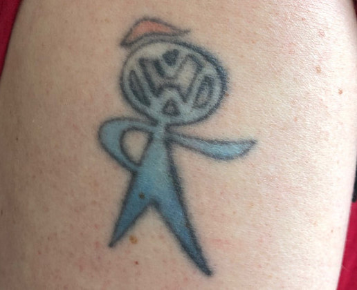 my vdub tattoo