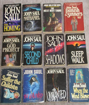 favourite writers all time - john saul