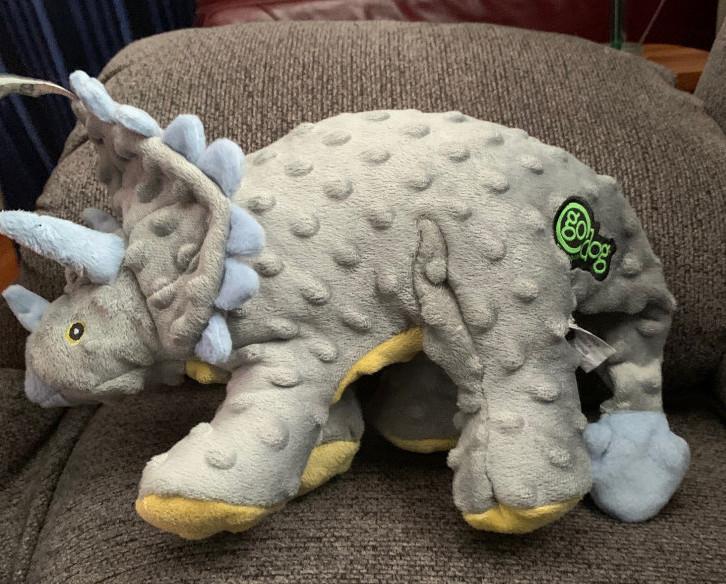 goDog chew guard toy - triceopteris