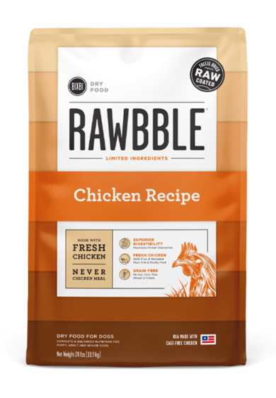 bixby pet food review - rawbble dog food