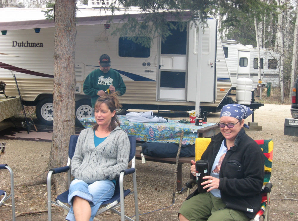 is camping fun - good ole days