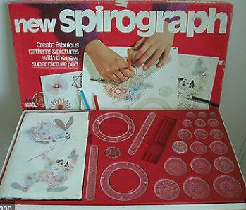 funny things from the 80s - spirograph set
