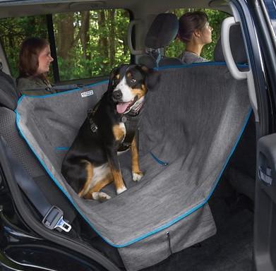kurgo dog gear - half hammock seat cover