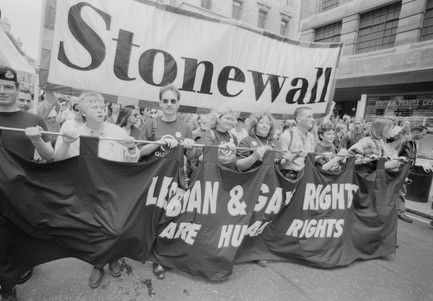 rainbow flag color meanings - stonewall riots