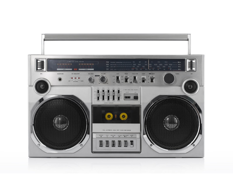 funny things from the 80s - ghetto blaster