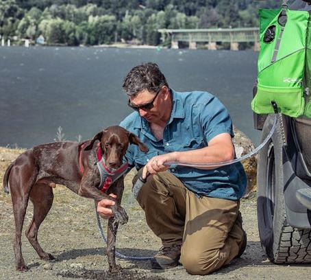 Kurgo Go Shower - best dog camping gear