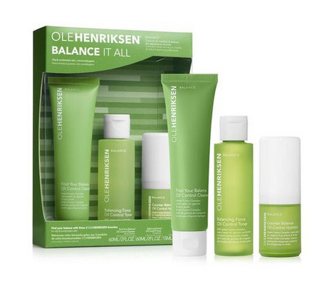 Ole Hendricksen skin care products - balance collection